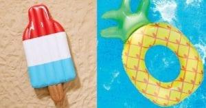 10 flotteurs de piscine originaux qu'on veut maintenant!