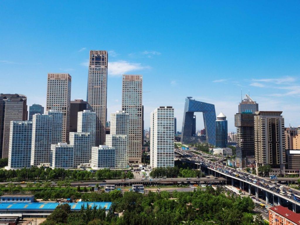N ° 25: Pékin compte 999 hauts bâtiments en 16 807 kilomètres carrés.