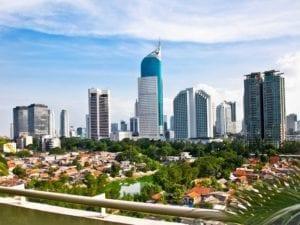 N ° 23: Jakarta, en Indonésie, compte 484 hauts bâtiments en 661 kilomètres carrés.