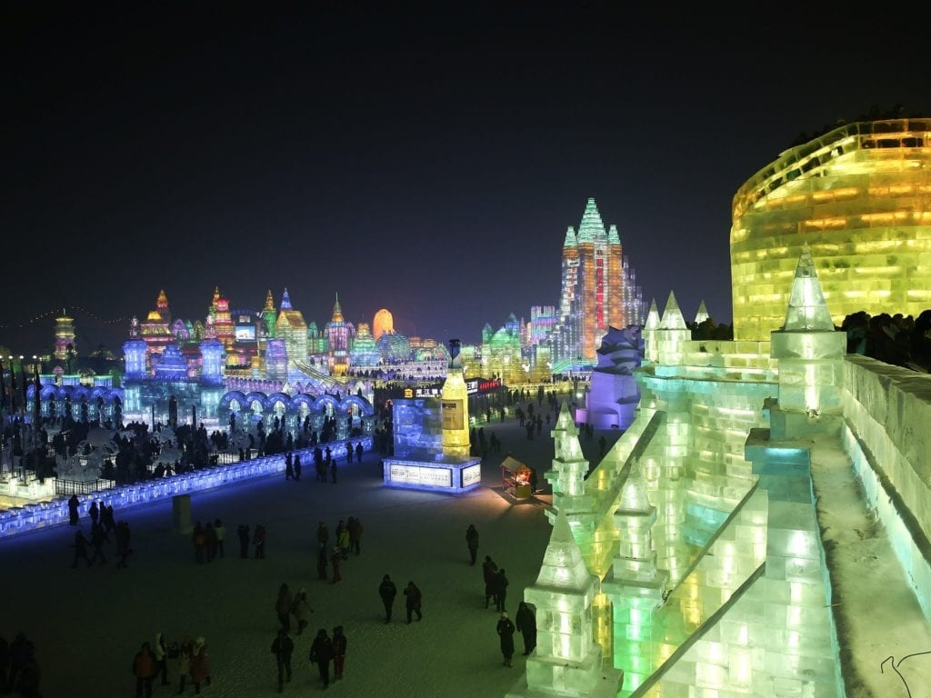 N ° 24 Harbin, la Chine compte 456 hauts bâtiments en 7 086 kilomètres carrés.