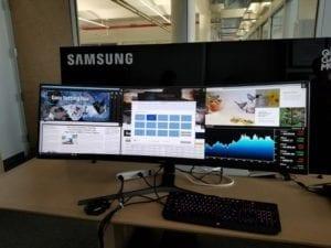 Samsung dévoile le CHG90: son nouveau moniteur 49 pouces