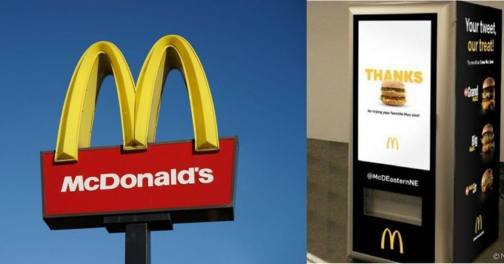 Le premier distributeur automatique de Big Mac mis en service par McDonald's