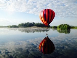 Un vol mémorable en montgolfière avec Balad'Air, Envolée en Montgolfières, en Montérégie