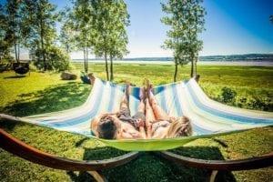Une journée détente de luxe entre fleuve et montagne avec massage, spa et table d'hôte au Spa des Neiges à Québec