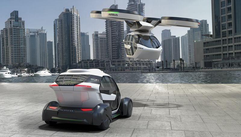 Airbus dévoile Pop Up, son projet de voiture volante