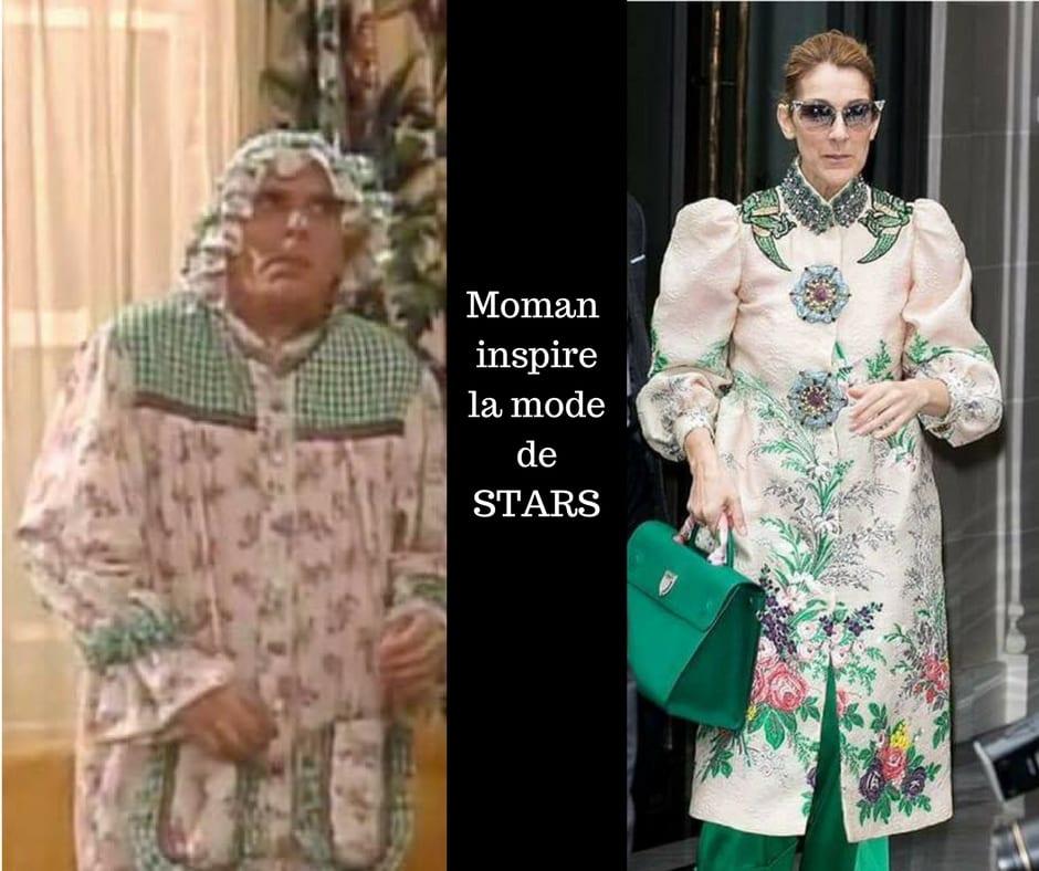 Moman de la petite vie a su inspirer la mode des plus grande STARS