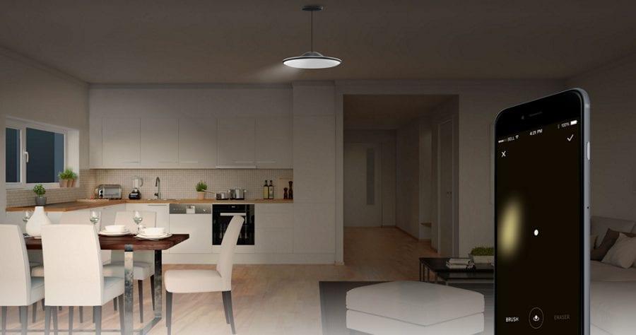 Fluxo, l'éclairage domotique personnalisé