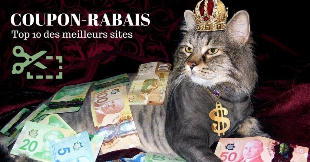 Image des dix meilleurs sites COUPON-RABAIS à imprimer