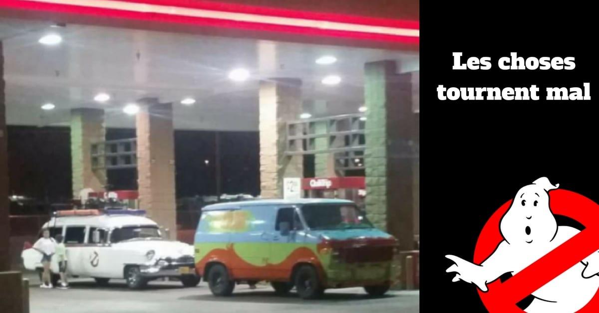 Image station d'essance Scooby Do et Ghostbuster