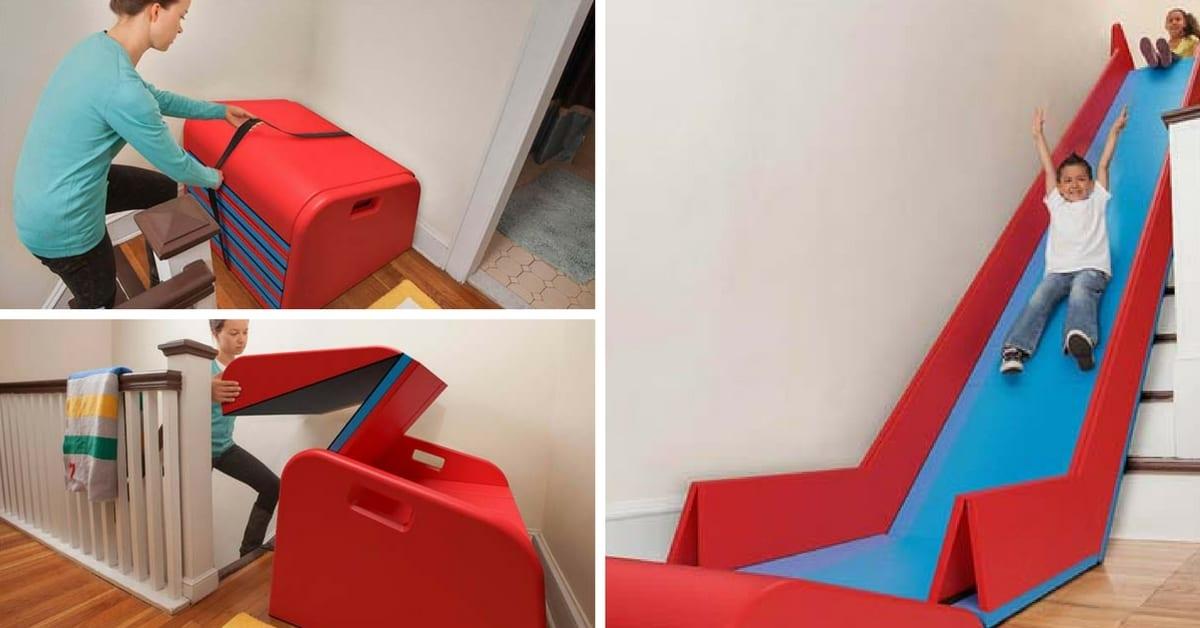 sliderider voici l 39 id e la plus originale pour plaire aux enfants et les grands. Black Bedroom Furniture Sets. Home Design Ideas
