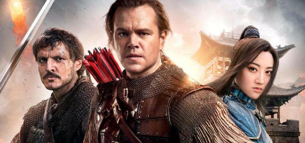 LA GRANDE MURAILLE Mettant en vedette le célèbre Matt Damon