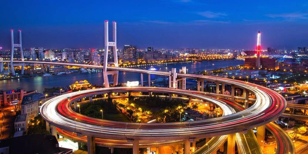 Nanpu Bridge à Shanghai