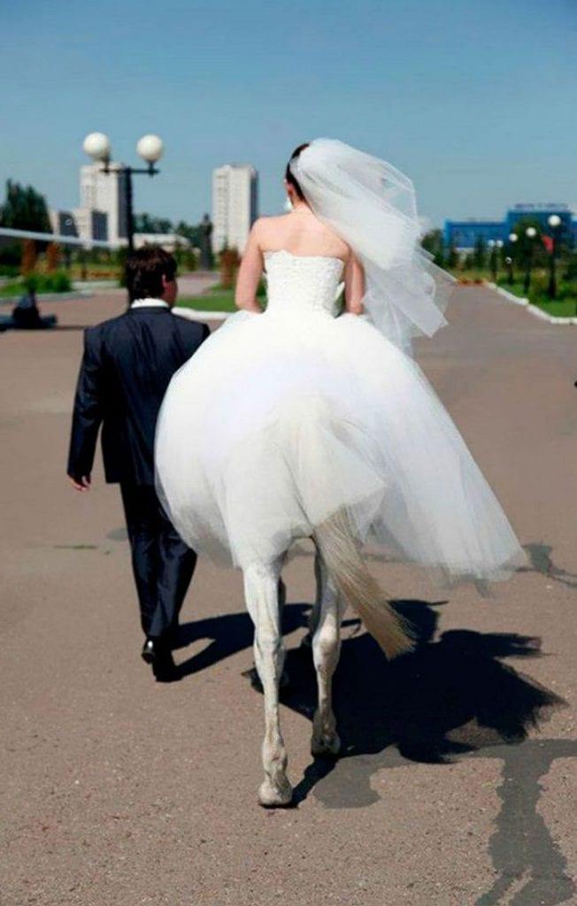 Un vrai mariage de conte de fées