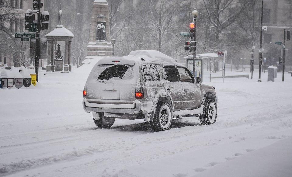 image auto tempête de neige 2018