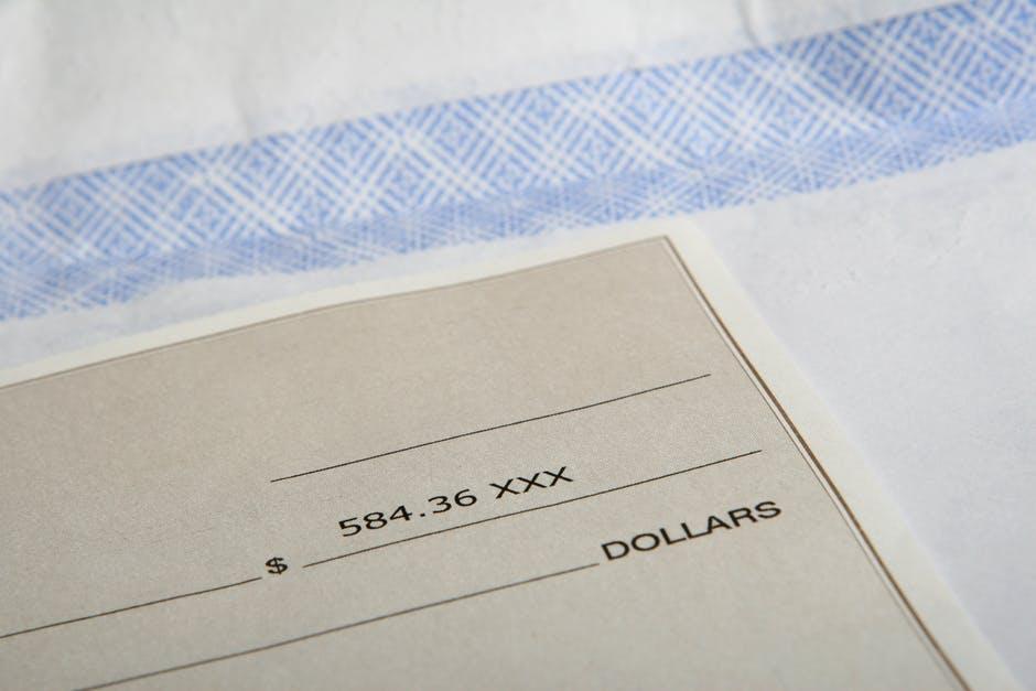 Frais d'encaissement de chèques : l'avantage en vaut-il le prix?