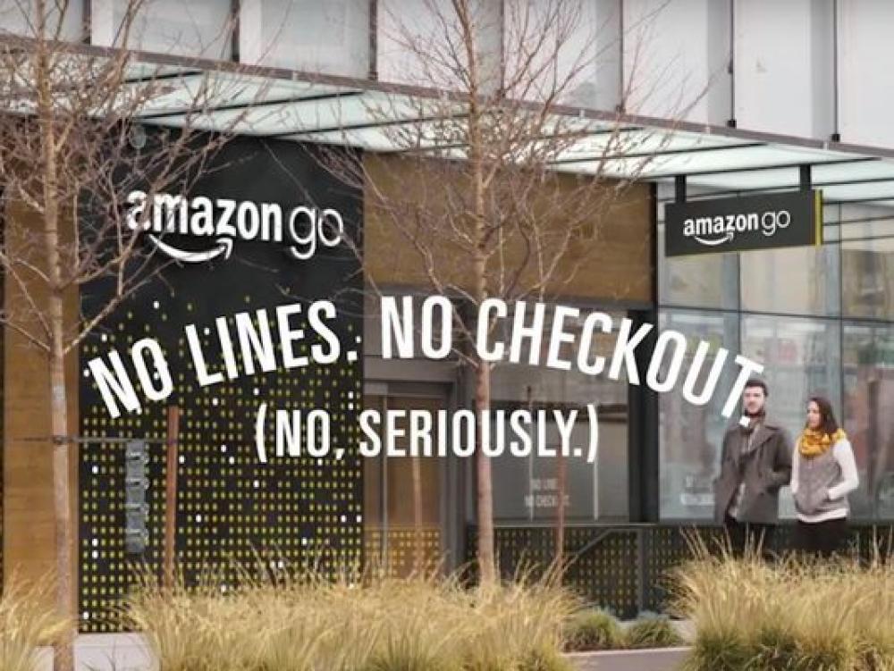 Amazon Go, le magasin libre-service sans attente