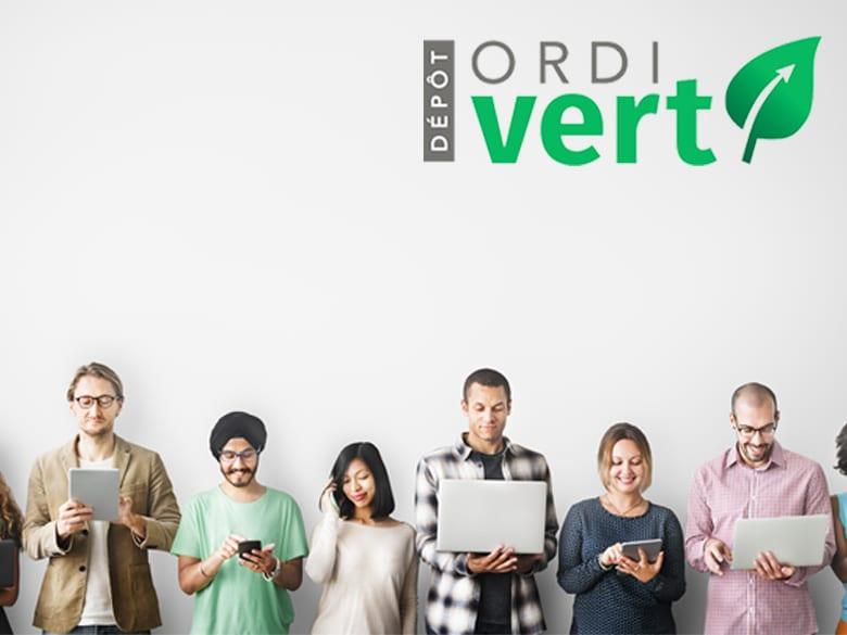 Un bon d'achat de 100$ valide sur tous les produits remis à neuf OrdiVert