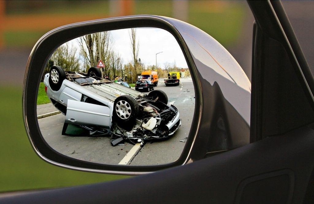 En cas d'accident, cinq étapes à suivre