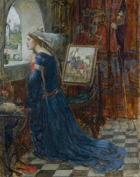Henri II et Rosamund Clifford