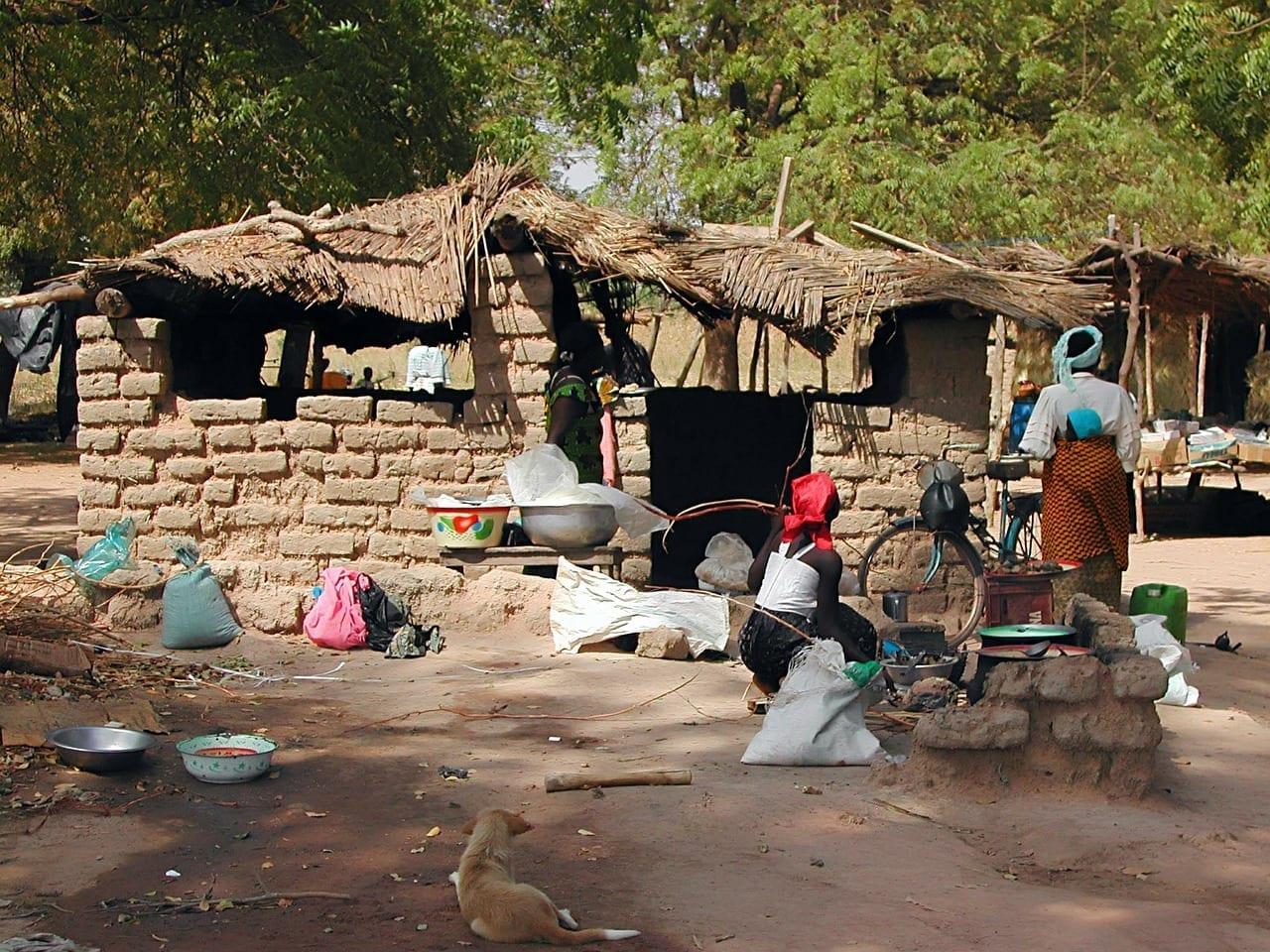 Burkina Faso Afrique Burkina Faso Maisons