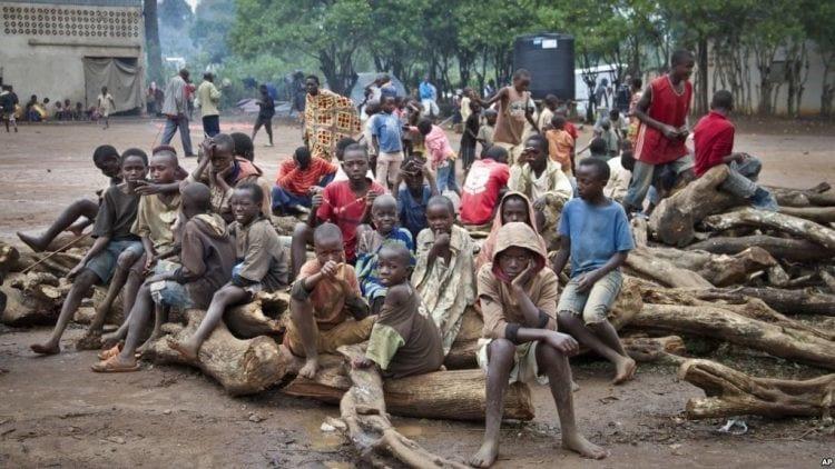 Burundi enfant pauvre
