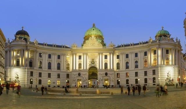 Palais Hofburg, Vienne, Autriche