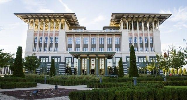 Palais du Président turc, Ankara, Turquie