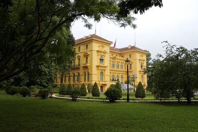 Palais présidentiel, Hanoi, Vietnam