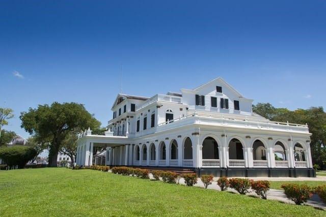 Palais présidentiel du Suriname, Paramaribo, Suriname