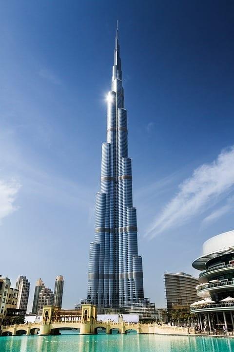Burj Khalifa : le bâtiment le plus haut du monde