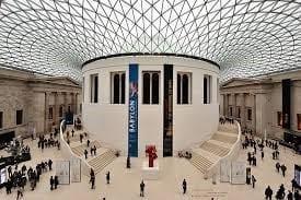 British Museum Pièce de l'âge du fer au British Museum