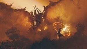 Le lac Crater et la bataille des dieux