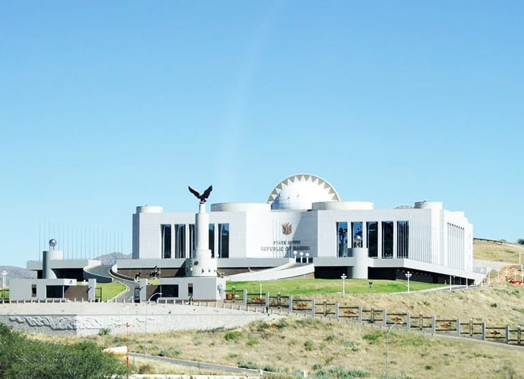 State House of Namibia (Windhoek, Namibie)