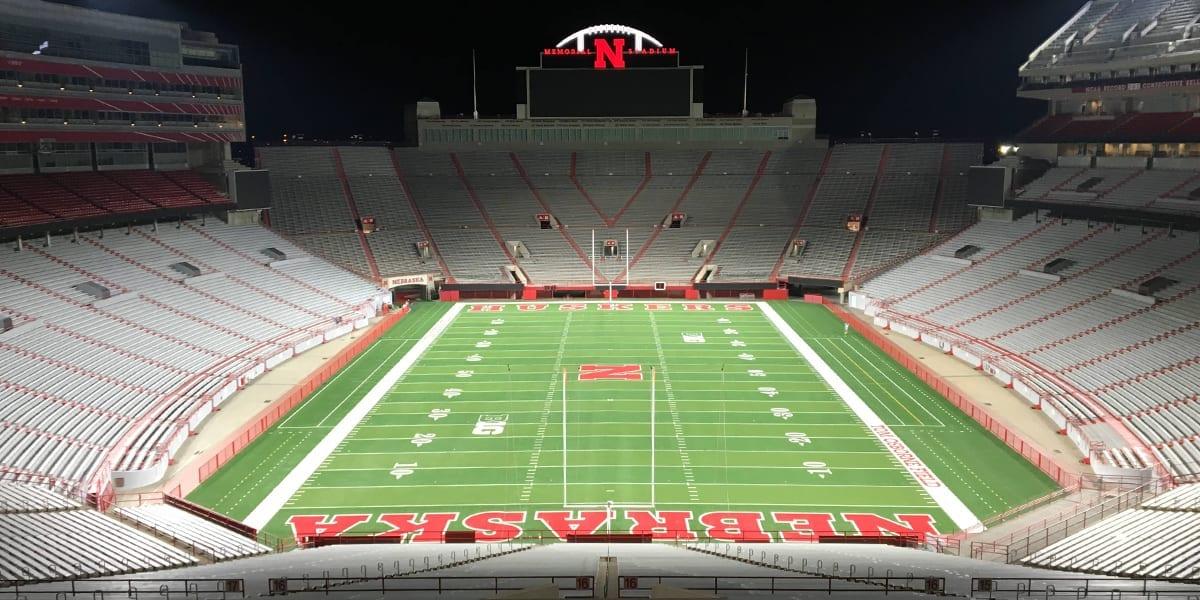 Memorial Stadium - Lincoln, Nebraska, États-Unis