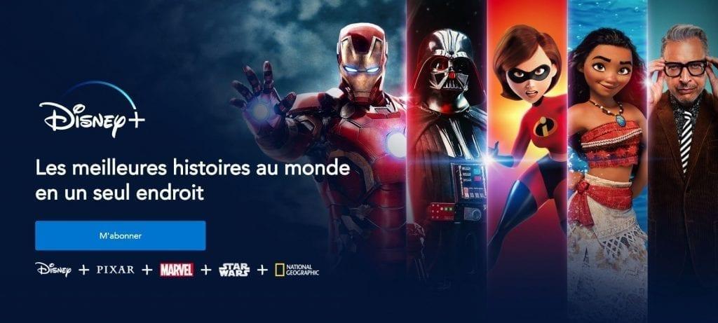 La nouvelle chaîne Disney, films et série en Streaming
