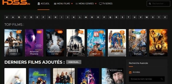 Top 10 meilleurs sites de streaming français gratuit