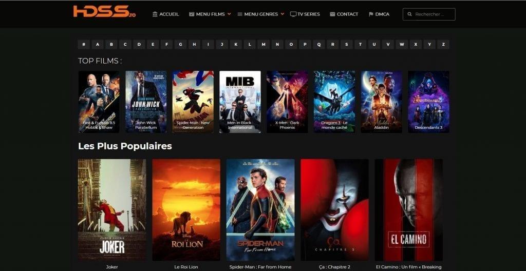Découvrez Hdss.to, le site de films et série en streaming gratuit