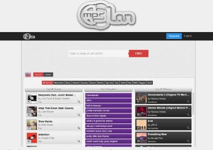 MP3CLAN : Easy to use music download site