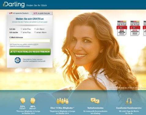 Edarling fr : The meeting site for serious girls