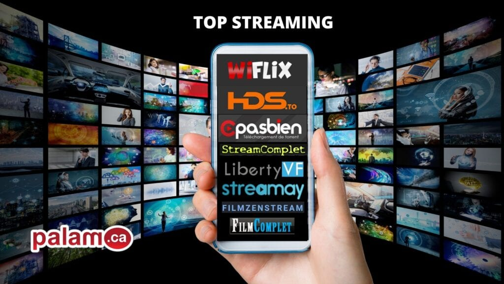 TOP 10 meilleurs sites de STREAMING français GRATUIT