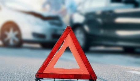 Five steps to follow in the event of an accident