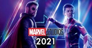 MARVEL - Voir les films prévus au cinéma entre 2021 et 2023