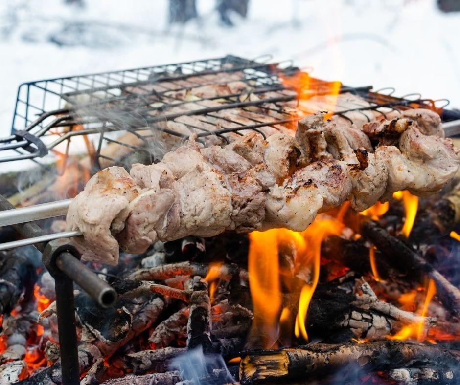 Soyez les guerriers du barbecue d'hiver - Cover