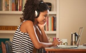 Listen to streaming music