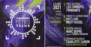 Festival Québec été 2021 -Programmation